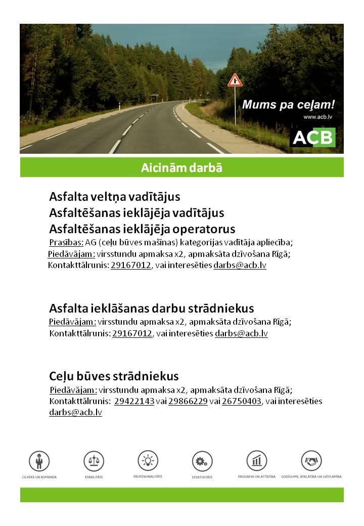 ACB darba sludinajums_Stradnieki